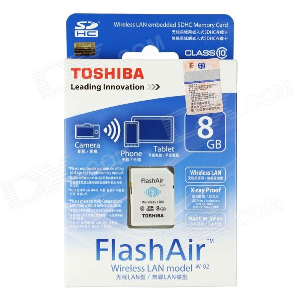 THẺ NHỚ SD TOSHIBA FLASH AIR WIFI 8GB